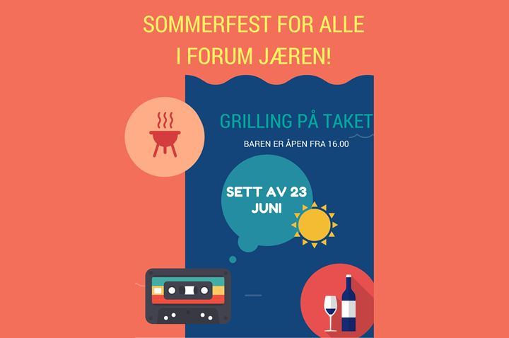 sommerfest for alle i forum j%c3%86ren!